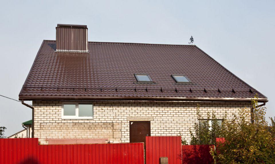 при фото крыши домов из металлочерепицы монтеррей лавке чудес